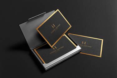 Corporate identity Design by ahmedelzahra