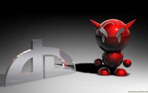 Little Red Devil - dA Fella by BlackMan23