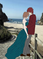Naruto couples series:GaaMat by Eliisheba