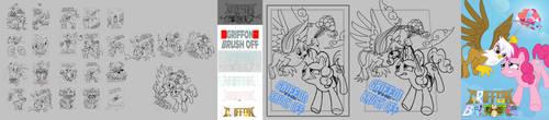 Griffon the Brush Off Progress by Timon1771