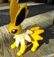 Crochet Jolteon by TheCrochetDragon