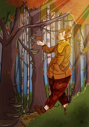 Fall by MiekyMouse