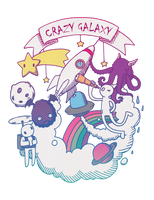 CRAZY GALAXY by Jesse-Gourgeon