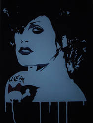 Brody Dalle by stencilgraf