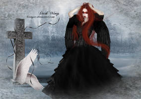 dark wings by LVAMPAR