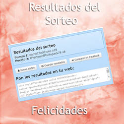 Resultados del sorteo :D by Wonderful-Colors