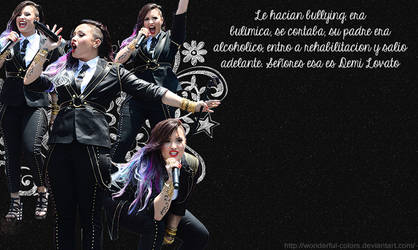 Demi Lovato-Wallpaper by Wonderful-Colors