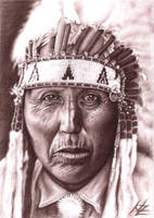 Cheyenne Chief by ArtsandDogs