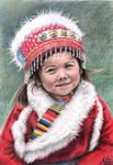 Tibetan Girl by ArtsandDogs