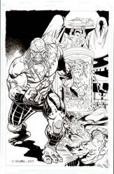 Subjekt17  Superman annual by BroHawk