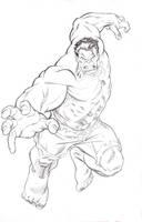 MCP Hulk pencils by BroHawk
