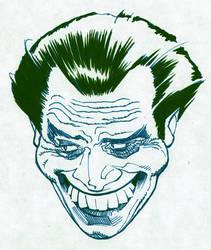 The Joker sketch by BroHawk