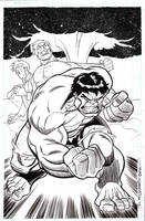 Heroes Con Hulk commission by BroHawk