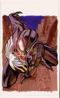 Trading cards...Venom by BroHawk