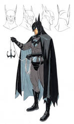 WB Year one movie concept art by BroHawk
