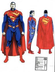 Mc.G's Superman Movie Suit by BroHawk