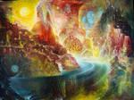 GODDESS KALI AND HER BATHROOM by JOSIPCSOOR