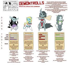 Demontrolls by Cobatsart