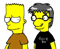 Simpsons and The Offspring by ddxnet