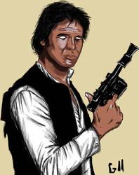 Han Solo by Garcho
