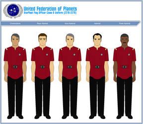 Starfleet Flag Officer Class B Uniform (2278-2279) by ATXCowboy