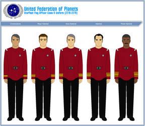Starfleet Flag Officer Class A Uniform (2278-2279) by ATXCowboy