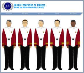 Starfleet Flag Officer's Dress Uniform (2278-2279) by ATXCowboy