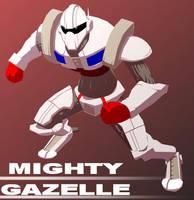 Mighty Gazelle by JoeAdok