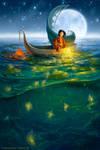 Golden Fish by ldiehl