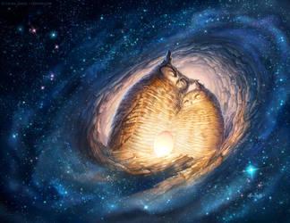 Galaxy Nest by ldiehl