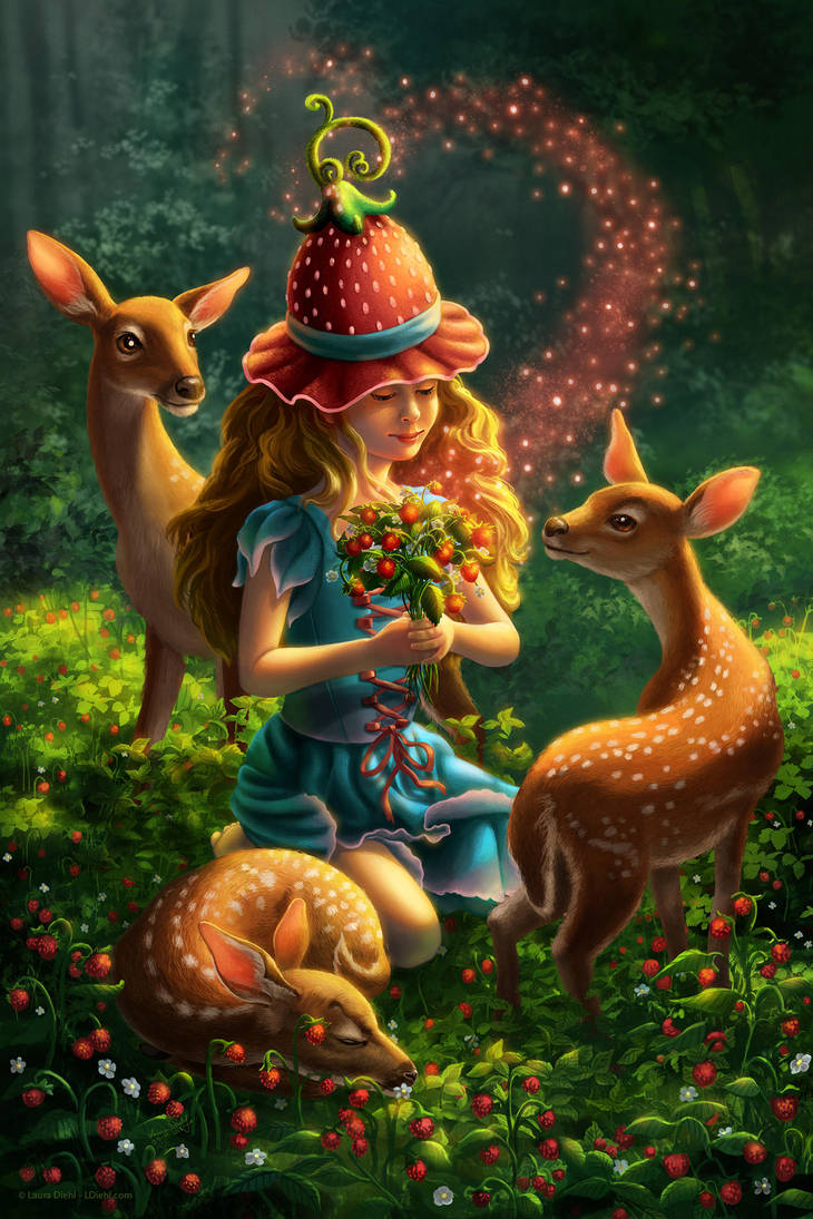 Strawberry Witch by ldiehl