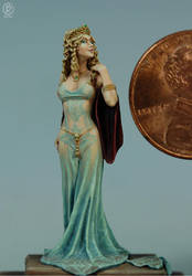Cersei Lannister painted by Marike Reimer by newboldworld