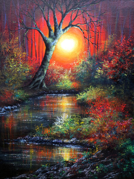 Magic Night by Ann Marie Bone by newboldworld