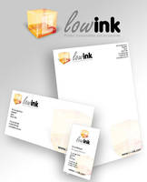 Branding for Low-Ink by thedevstudio