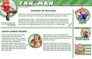 Fantasy Football website by thedevstudio