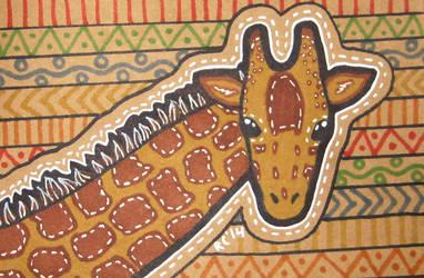 Giraffe by RedCloudlet