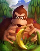 Donkey Kong- Oh banana by D-i-e-x