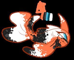 Ali | Calico Fantail Goldeen by aarkavillo