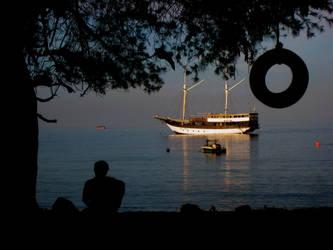 Evening at Gili Trawangan by accessQ