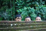 Balinese children by accessQ