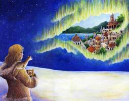 Northern Lights by SpaceTurtleStudios