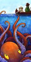 Octopus Treat by SpaceTurtleStudios