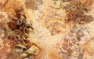Steampunk Wallpaper II - 1280 x 800 by SpaceTurtleStudios