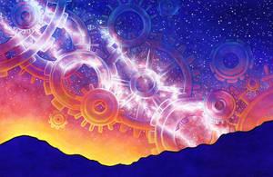 Clockwork Cosmos by SpaceTurtleStudios