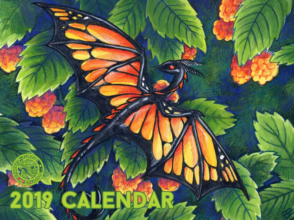 2019 Calendar by SpaceTurtleStudios