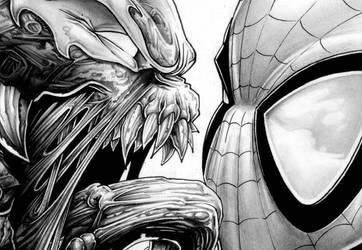 venom love spiderman by Vinz-el-Tabanas