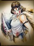 Princess Mononoke by Vinz-el-Tabanas