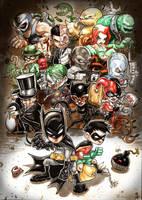 Batman Universe by Vinz-el-Tabanas