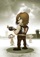 THE WALKING DEAD Daryl by Vinz-el-Tabanas