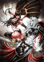 LADY DEATH vs PURGATORY by Vinz-el-Tabanas